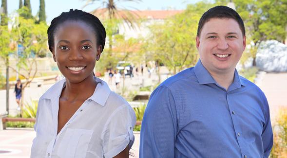 Sela Zalwango and Mike Verrier